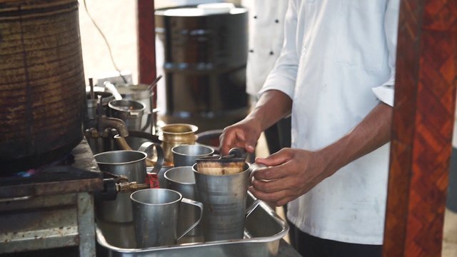 Making Chai Tea In Kerala India thumbnail