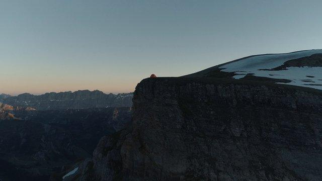 Tent On Mountain Top thumbnail