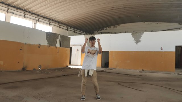 Dancing in a Desolate Building  thumbnail