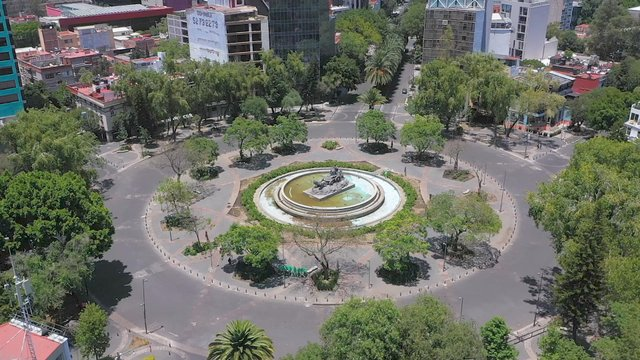 Roundabout In Mexico City  thumbnail