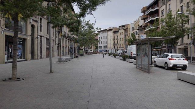 Empty Main Road in Spain thumbnail