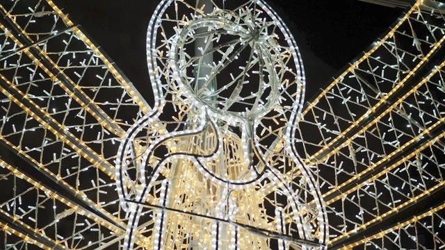 Close up of Christmas Angel Decoration thumbnail
