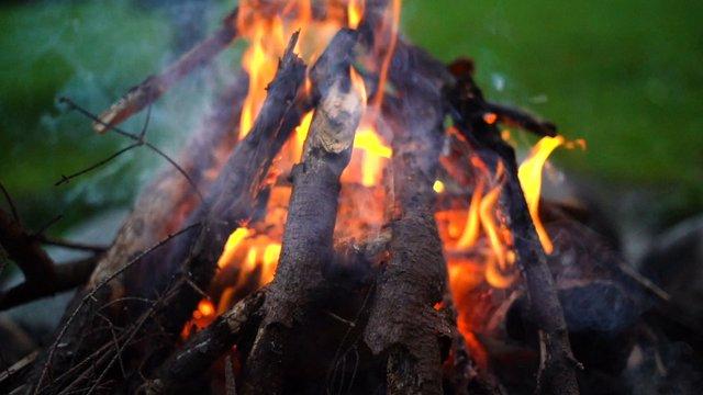 Cozy Bonfire Flames thumbnail
