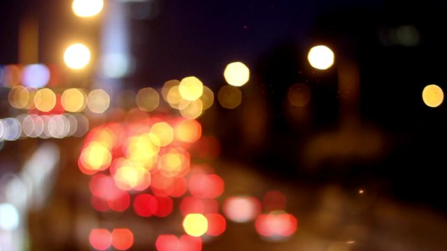 The Blurred Lanes of Traffic Lights thumbnail