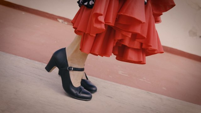 Flamenco Dancer Foot Moves thumbnail