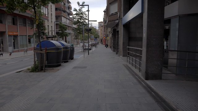 Empty Main Street in Spain thumbnail