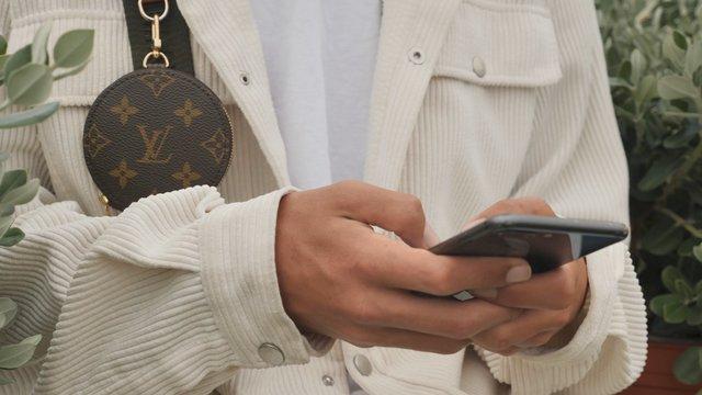 Close-up Young Man Texting thumbnail