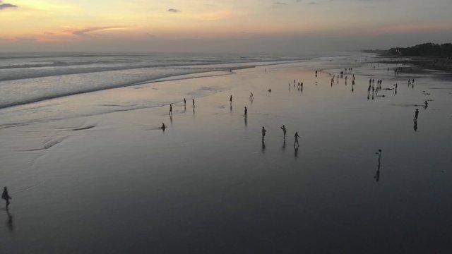 Beach Bali Sunset thumbnail