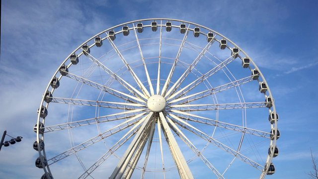 Ferris Wheel and the Clear Sky thumbnail