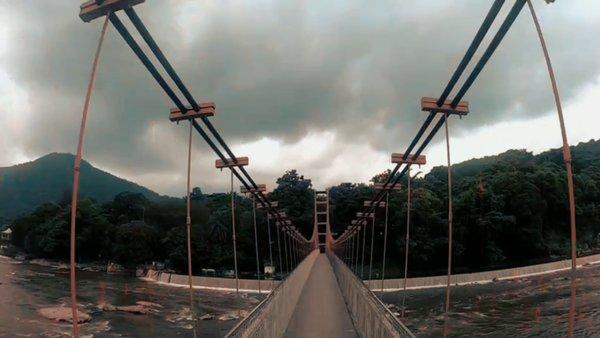HANGING BRIDGE IN KERALA