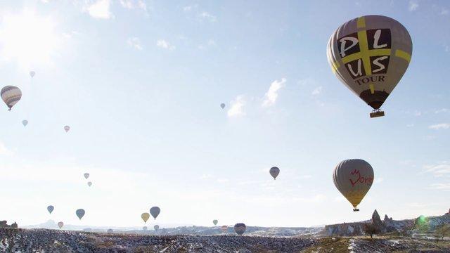 Sky with Hot Air Balloons thumbnail