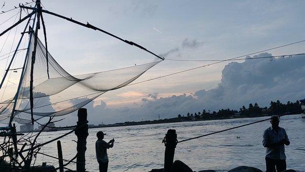 Cochi - Chinese fishing net