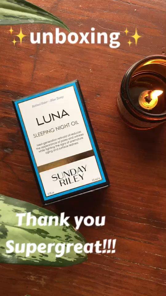 review of Sunday Riley Luna Sleeping Night Oil