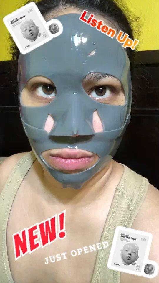 review of Dr. Jart Dr.Jart+ Rubber Mask Clear Skin Lover