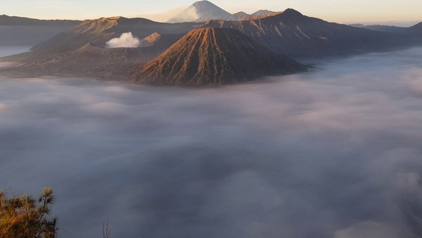 Mount Bromo from Seruni Point