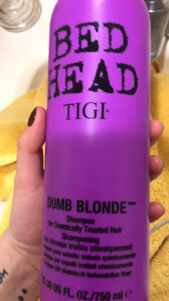 Tigi Cosmetics Tigi Bed Head Dumb Blonde Shampoo 25 36 Ounce Reviews Supergreat