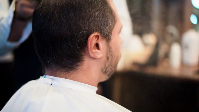Male Hairstyle in Barbershop thumbnail