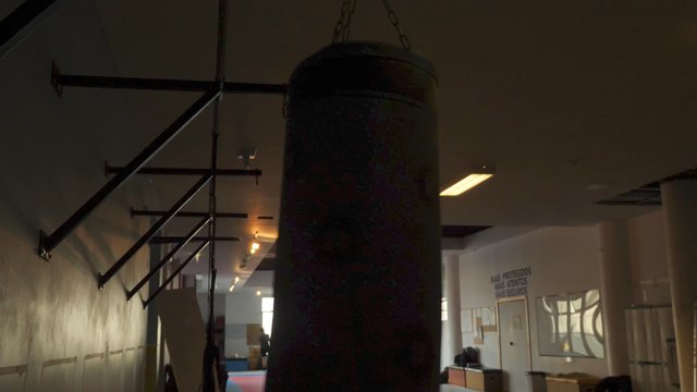 Punching Bag Sways From Punches thumbnail