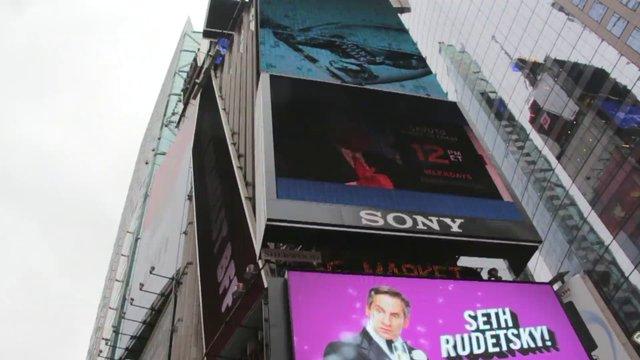 NYC Digital Billboard Advertisement thumbnail