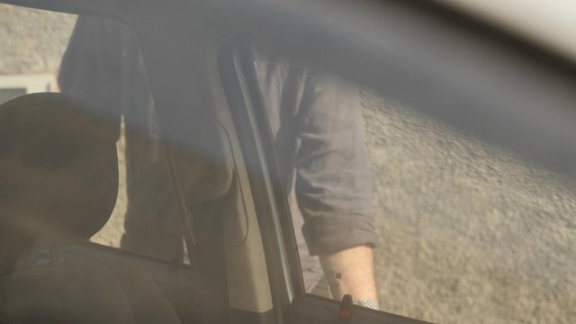 Senior Man Gets Into the Car thumbnail