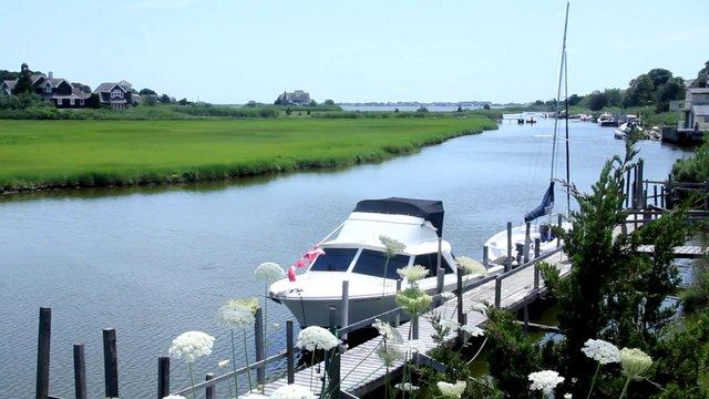 Holiday Boat on a Lake thumbnail