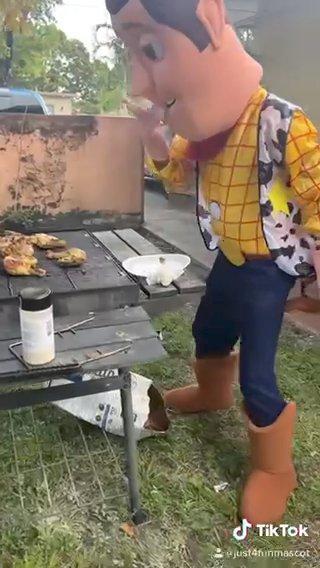 Woody Got The Sauce