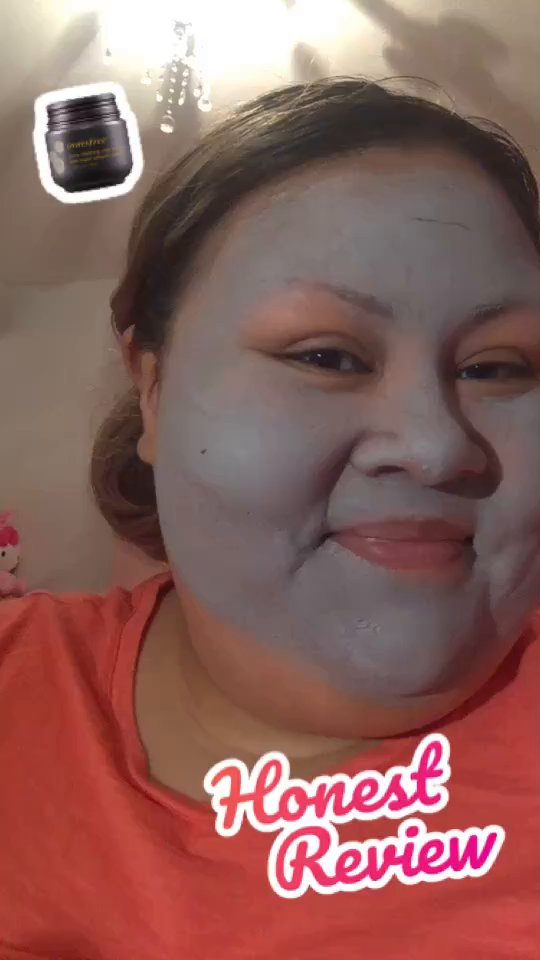 review of Innisfree Pore Clearing Clay Mask with Super Volcanic Clusters