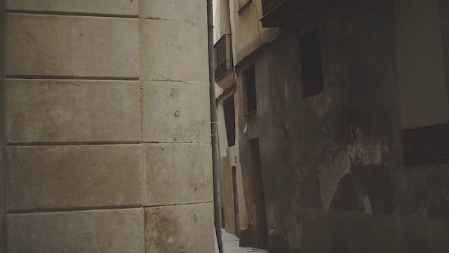 Old Empty Streets of Barcelona thumbnail