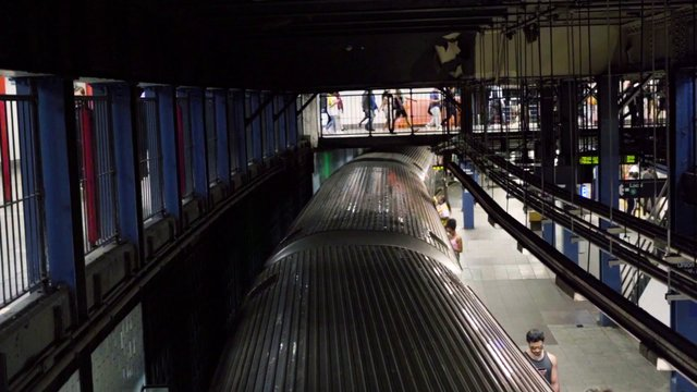 Crowded NYC Subway thumbnail