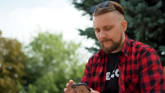 Texting in the Park thumbnail
