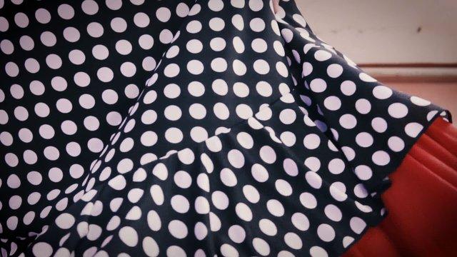 Flamenco Dancer Skirt thumbnail