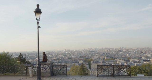 Man Meditating Near Sacre Coeur thumbnail