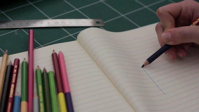 Pencil Drawing a Cube thumbnail