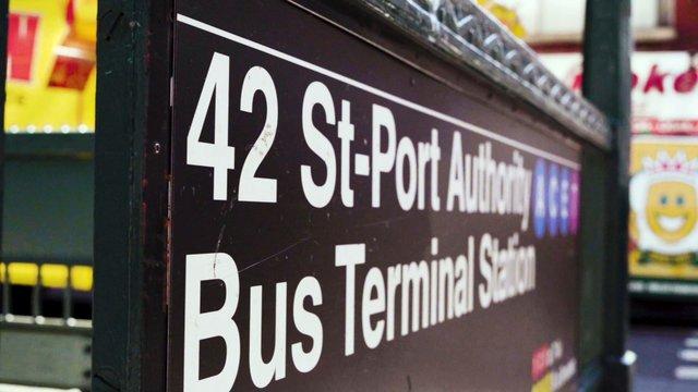 St-Port Authority Bus Terminal Station thumbnail