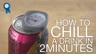 How to Chill a Drink in 2 Minutes