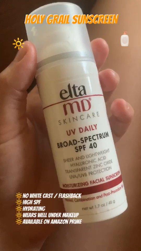 review of EltaMD UV Daily Facial Sunscreen Broad-Spectrum SPF 40