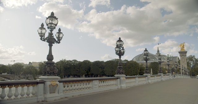 Walk on Pont Alexandre III Bridge in Paris  thumbnail