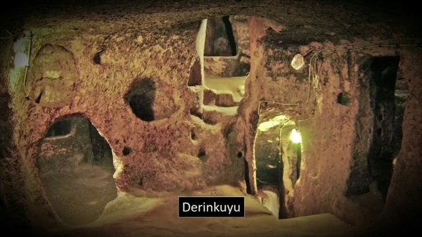 Underground city ....A whole big city could be under feet...!!
