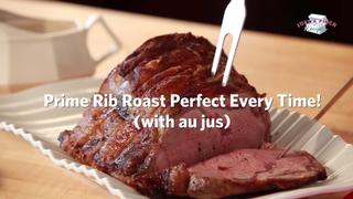 Prime Rib Roast Au Jus Perfect Every Time! No Fail