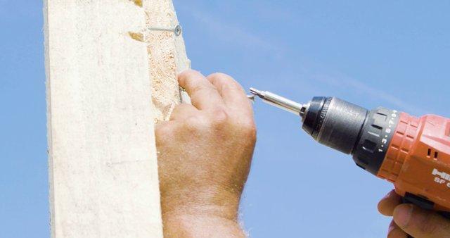 Drilling Nails into Wood Plank thumbnail