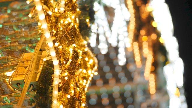 Close up of Christmas Lights thumbnail