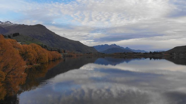 Lake In Queenstown, NZ  thumbnail