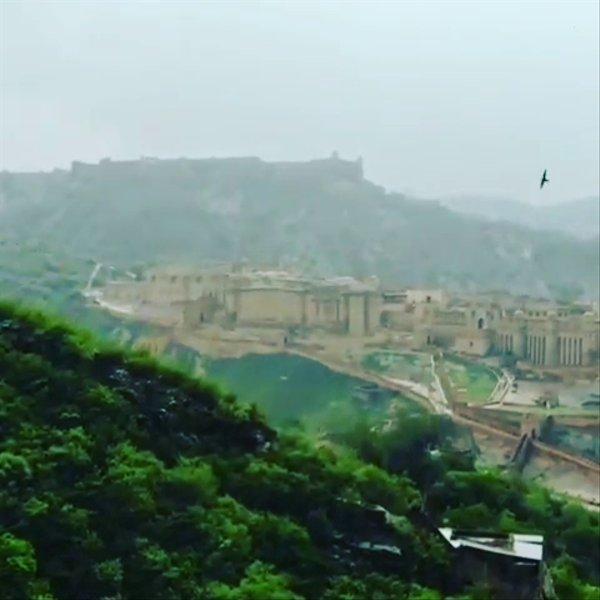 Amber fort beautiful environment
