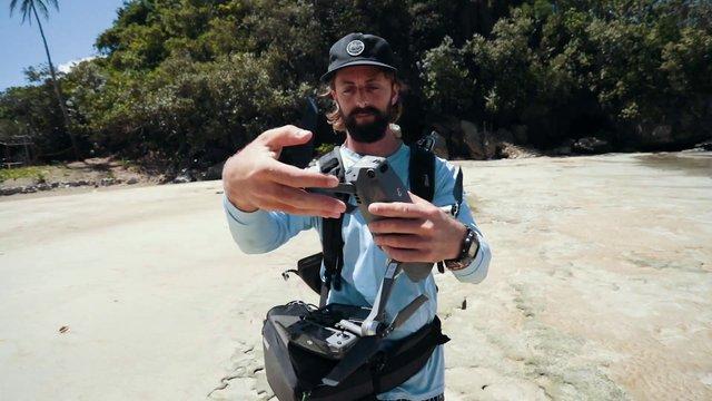 Photographer Folds Drone thumbnail