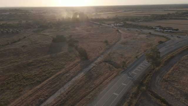 Aerial View of a Farming Fileds thumbnail