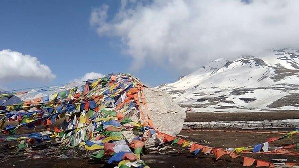 Scenic beauty,Rohtang Pass #viewfromthetop