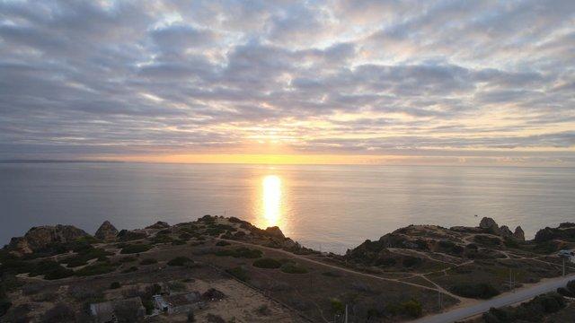 Sunset Over the Atlantic Ocean thumbnail