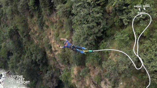 Bungee Jumping - The Last Resort, NEPAL