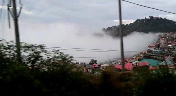 Shimla-Mall Road-Toy Train
