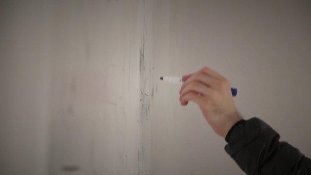 Hand Writing on White Board thumbnail